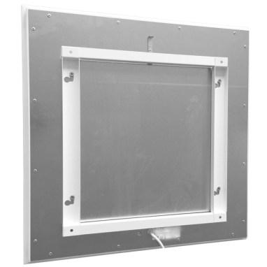 Infrarot Zusatzheizung mit Halterung für Wand- / Deckenmontage
