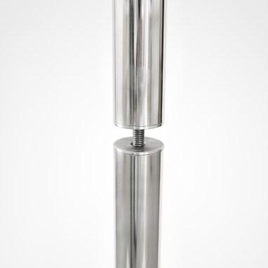 Wählen Sie zwischen 1 bis 3 Stahlstangen für Ihren Heizstrahler Ständer