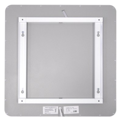 Infrared panel heaters with patented wall ceiling mount