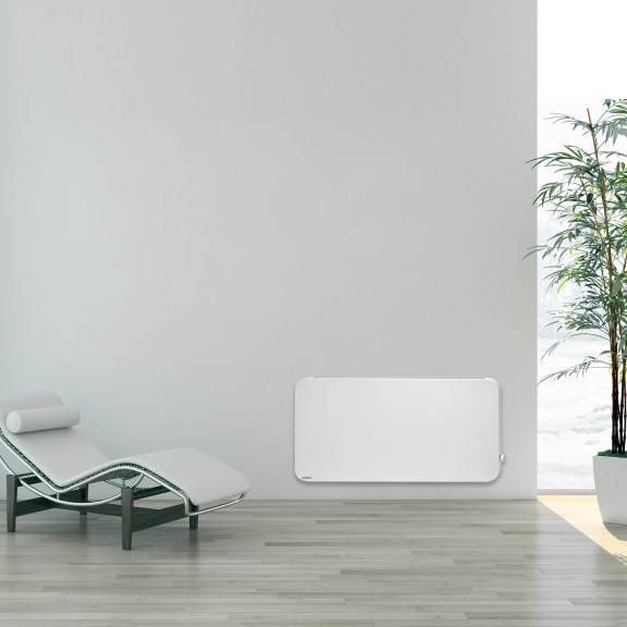 Sleek hybrid infrared heating panel