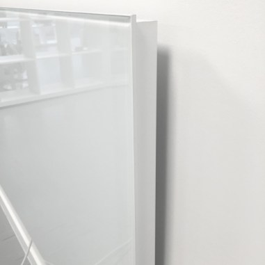 electric glass panel heater wall installation