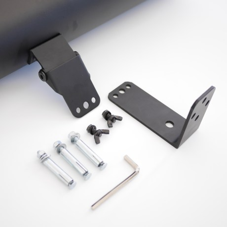 Outdoor infrared heater mounting accessories