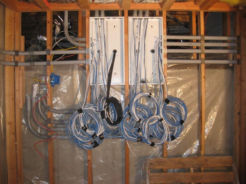 medium resolution of conduits into box