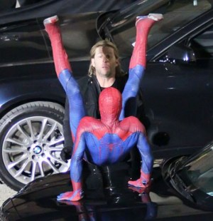 Spiderman amoroso