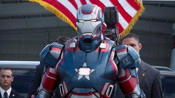 Oleee, qué guapo Iron Patriot