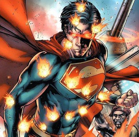 Superman en plan pecho palomo