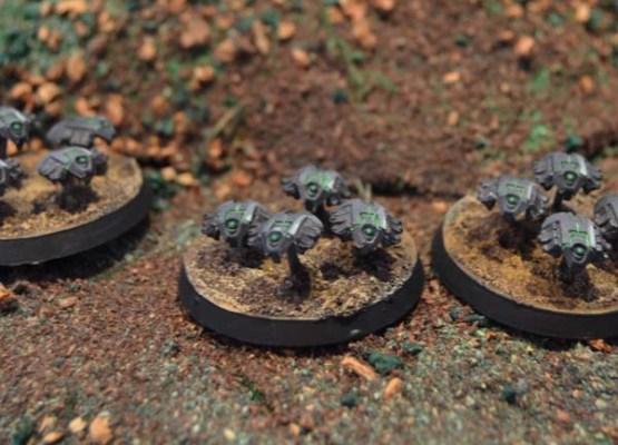 Enjambre de escarabajos