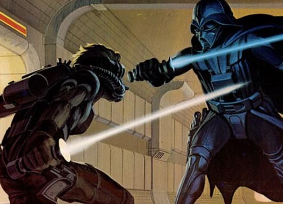 El bueno de McQuarrie diseñó al malo de Darth Vader.