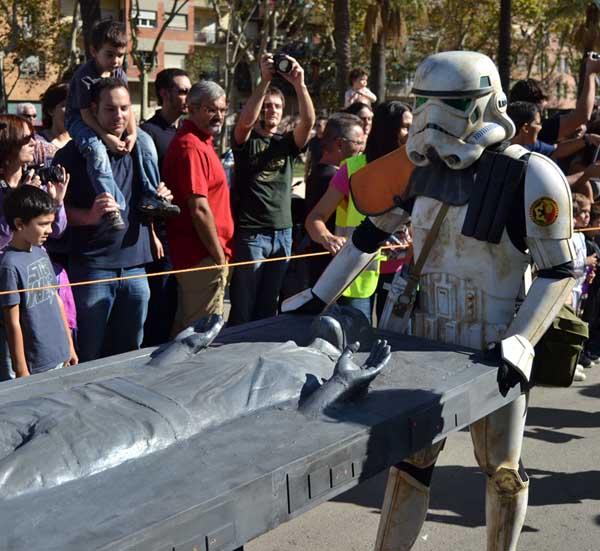 Han Solo no lo pasó muy bien aquí.
