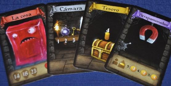 Cosas que nos podemos encontrar en el Dungeon.