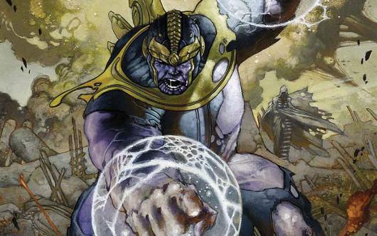 Thanos rabiando de cojones