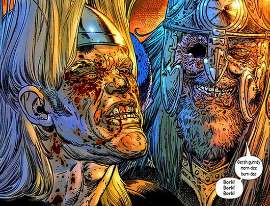 Thor ttras una somanta de ostias
