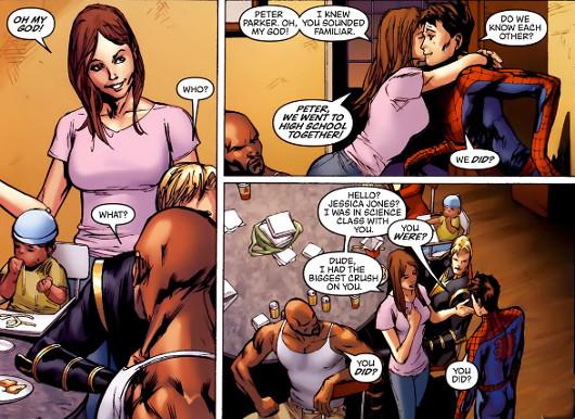 Spiderman a punto de ganarse una ostia