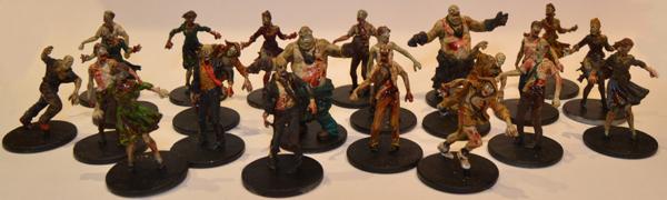 22 zombis para Zombicide.