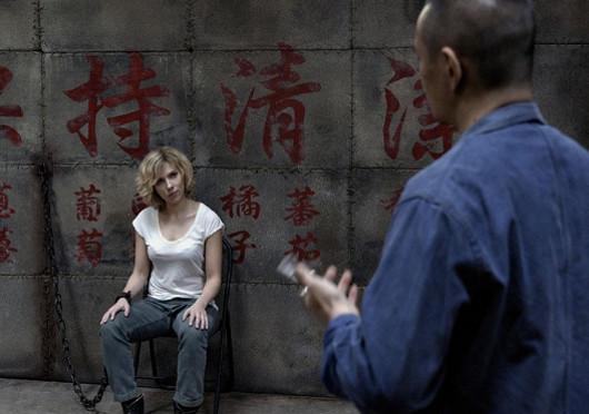 Lucy con un chino