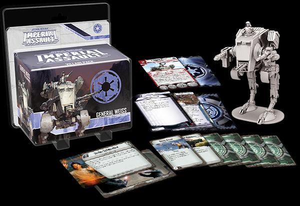 General Weiss Villain Pack