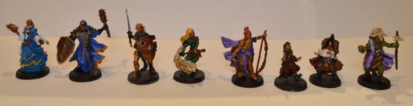 Los 8 personajes de Descent