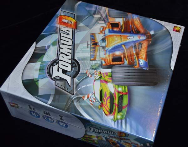 La caja del juego.