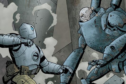 Atomic Robo (al igual que los humanos) arregla las cosas a ostias