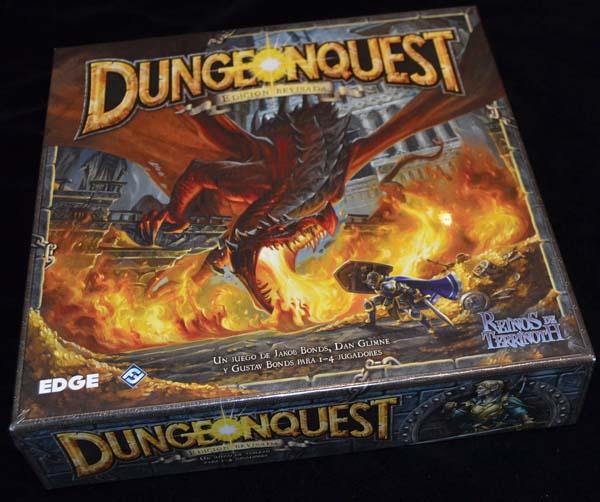 La caja de DungeonQuest