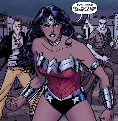 Wonder Woman y su morenito playero