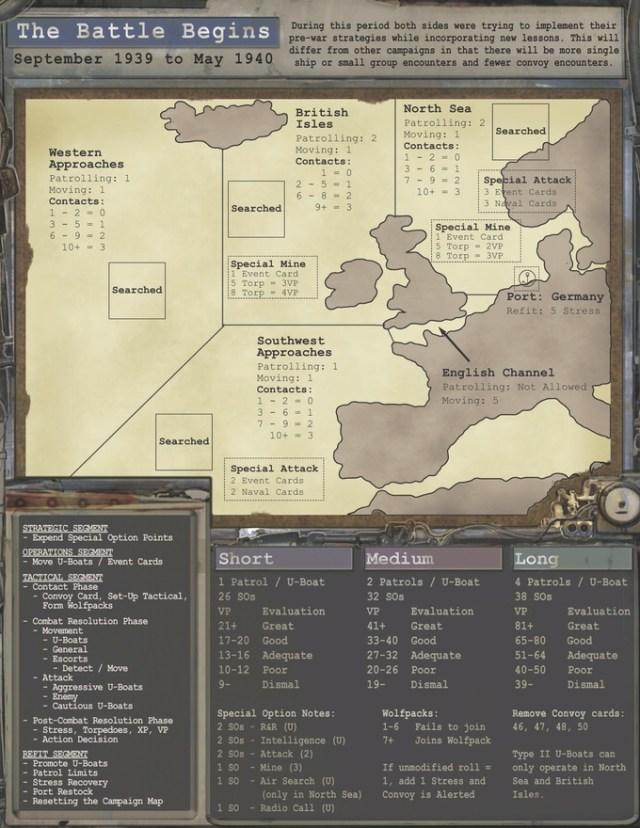 Mapa de campaña.