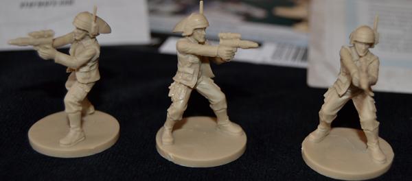 Los 3 soldados.