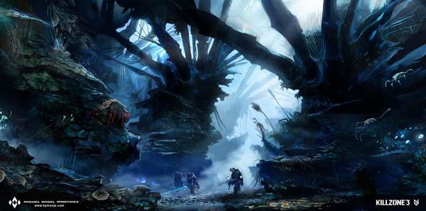 killzone3 vecta jungle concept art