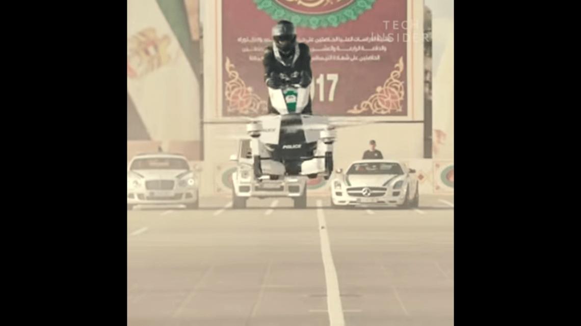Dubai Polisi Hoverbike ile Uçacak