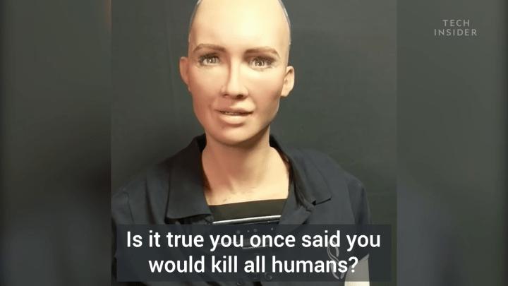 Yapay Zekalı Robot Sophia ile Özel Röportaj