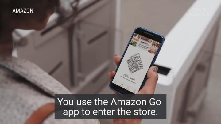 Amazon Go'nun İlk Kasiyersiz Mağazası