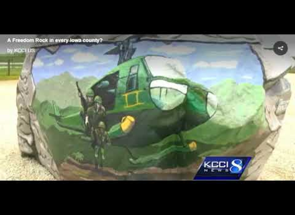 Freedom Rock in Every County - KCCI