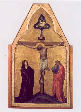 Gesù in Croce, la Madre e il Discepolo: XII Stazione