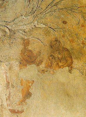 La imagen más antigua de la Virgen con el Niño y profeta (Balaan?) señala estrella. Priscila