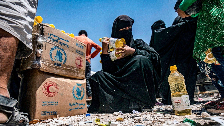 Syria reliant on essential food aid - Vatican News