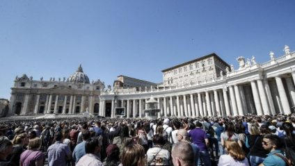 Pope Francis during the Angelus' Prayer