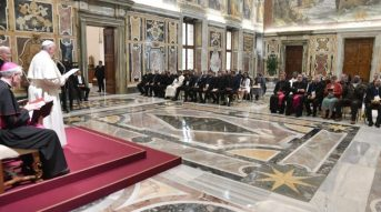 Pope Francis addressed participants in the Vatican conference on the Catholic Church's pastoral care of prisons.