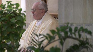 Papa santa marta