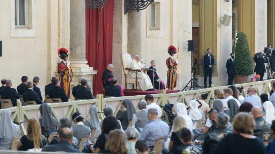 教皇フランシスコによる一般謁見 2020年9月16日