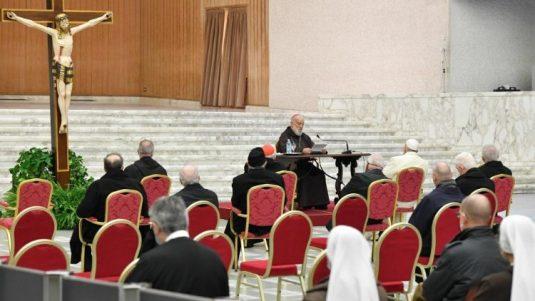 Advent preaching by Card. Raniero Cantalamessa on 1Nov. 18, 202.