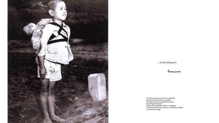 Foto símbolo de Nagasaki, regalada por el Papa