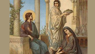 Chúa Giêsu được đón tiếp tại làng Bêtania