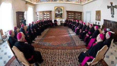 Các giám mục Hoa Kỳ yết kiến ĐTC