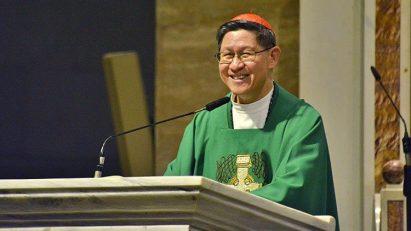 Cardinal Luis Antonio Tagle.
