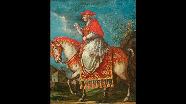 Retrato equestre de Benedicto XIII