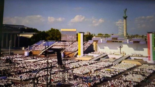 「第52回国際聖体大会」開会ミサ 2021年9月5日 ハンガリー首都ブダペスト