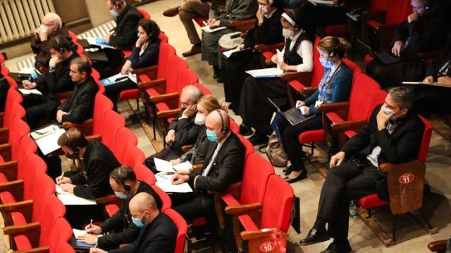 Church representatives attend the Warsaw conference on Monday