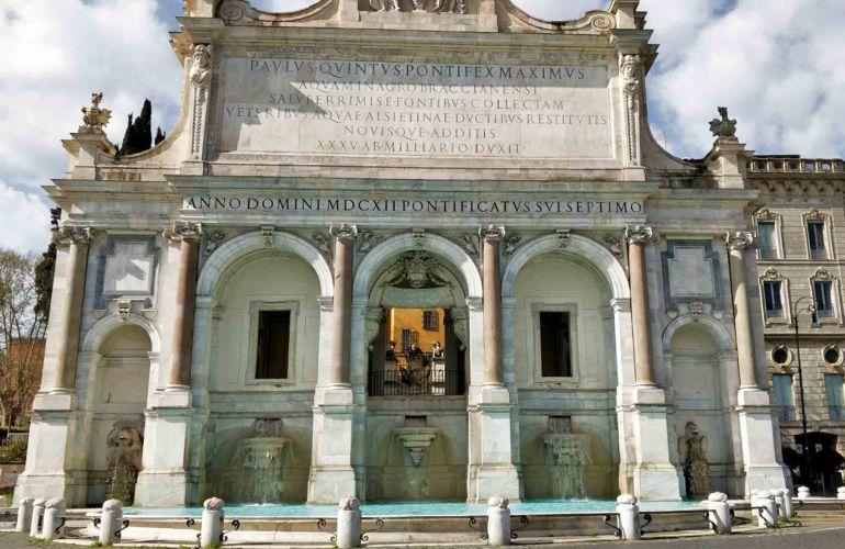 Janicule  Chembres prs de Janicule  Rome  Vatican Rooms