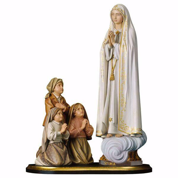 Grupo Aparición Nuestra Señora de Fátima Capelinha cm 49 ...