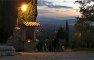 Assisi: Weg nach San Damiano